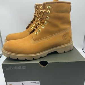 Timberland Men's Size 9 10066 Wheat Nubuck Boots